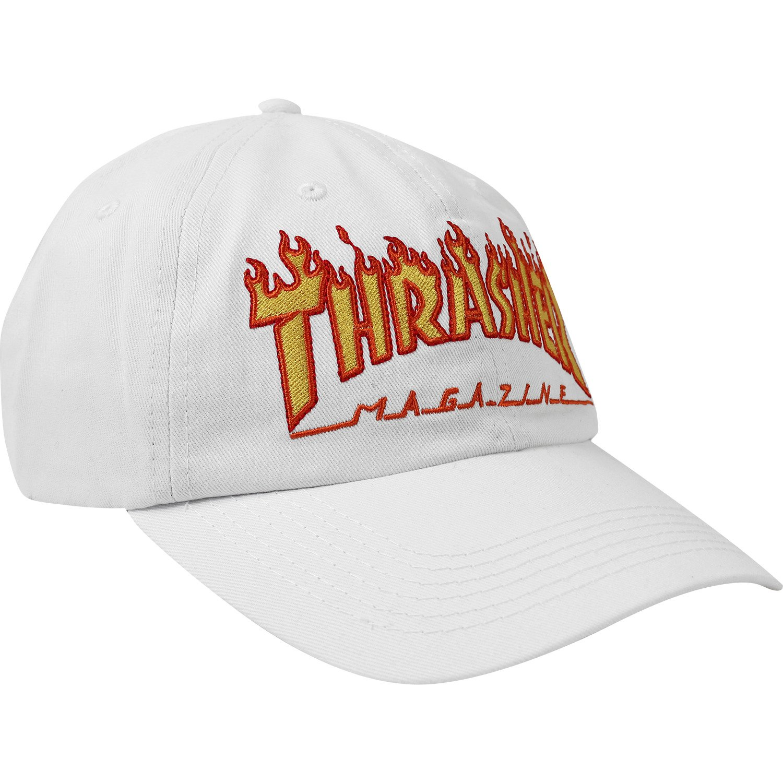 Thrasher Magazine llama Old temporizador blanco gorra - ajustable ...