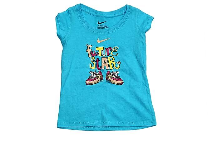 Nike Girl s Future Star Graphic Short-Sleeve T-Shirt 24 Months ... 5614874c0b