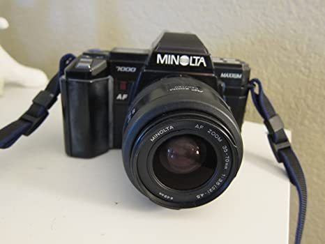 Minolta 7000 AF (Maxxum 7000) + AF Zoom 35-80mm f4.0-5,6 Camara ...