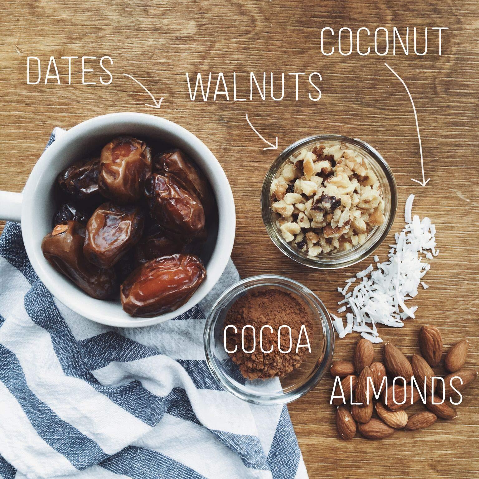 Larabar Gluten Free Bar, Chocolate Coconut Chew, 1.6 oz Bars (16 Count), Whole Food Gluten Free Bars, Dairy Free Snacks by LÄRABAR (Image #3)