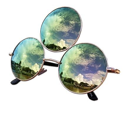 Amazon.com: Gafas de sol de tercer ojo con luces de tríptico ...