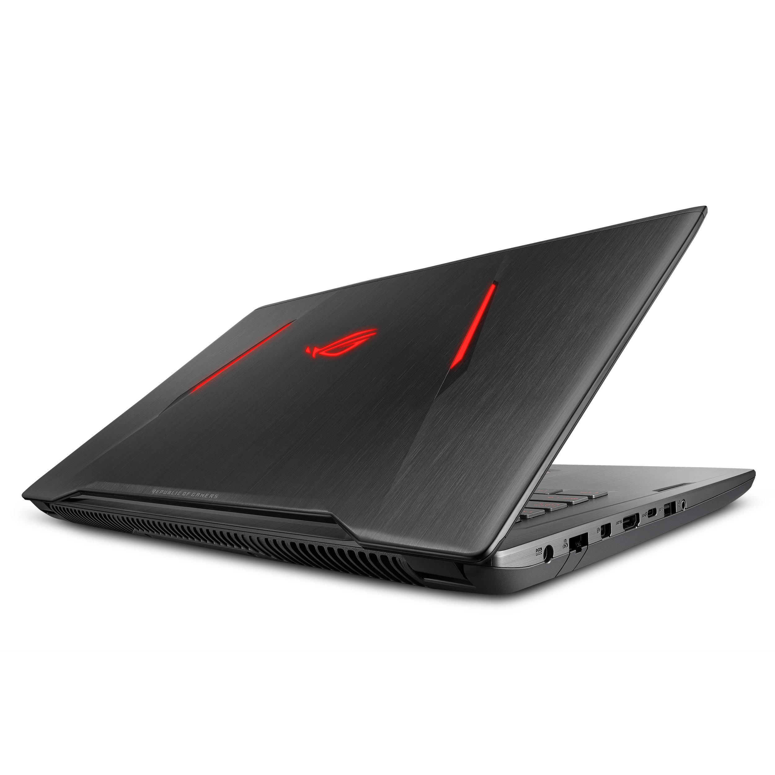 "ASUS ROG STRIX AMD Gaming Laptop, Ryzen 7 1700, Radeon RX580 4GB, 17.3"" FHD FreeSync Display, 16GB DDR4, 256GB SSD + 1TB HDD, Video Editing, GL702ZC by Asus"