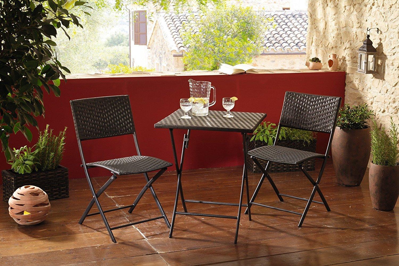Gartenmobelset Bistro Set 3tlg Bakonmobel Gartenstuhl Gartentisch