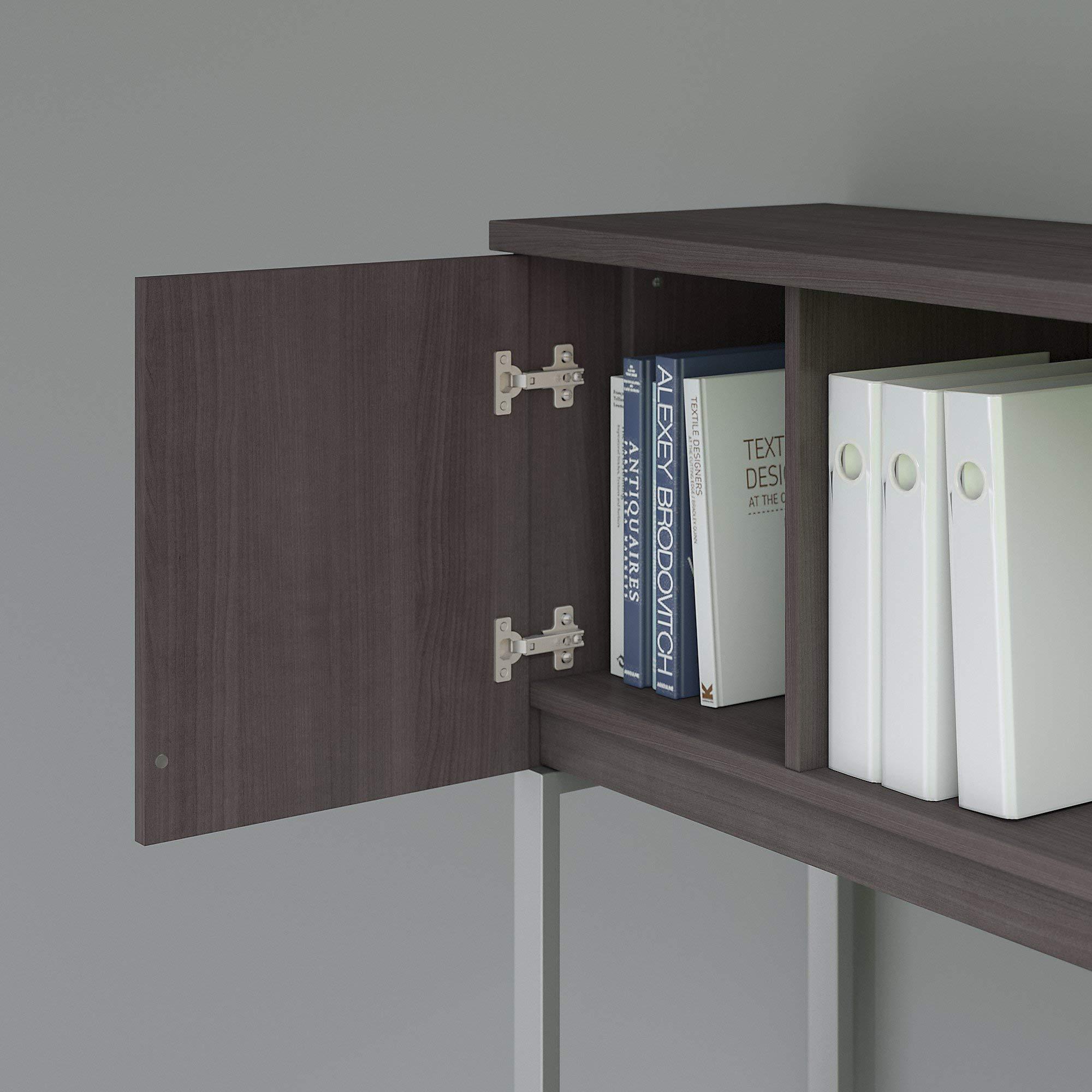 Bush Business Furniture 400 Series 48W Hutch in Storm Gray by Bush Business Furniture (Image #3)