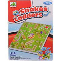 Comdaq Snakes and Ladders Travel Board Game