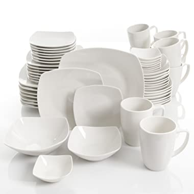 Gibson Select Amalfa Ceramic Dinnerware Set (56-Piece)