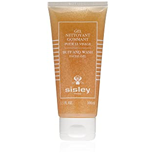Sisley Botanical Buff & Wash Facial Gel, 3.3-Ounce Tube