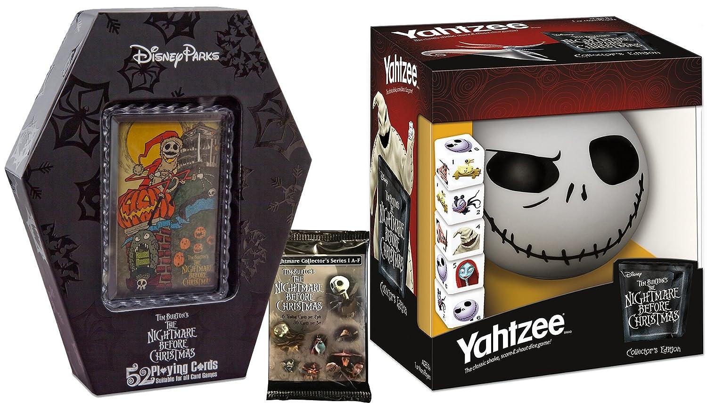 Amazon.com: The Nightmare Before Christmas Game Collection Yahtzee ...