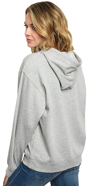 Disney Womens Hoodie Minnie Mouse Peeking Pullover Sweatshirt