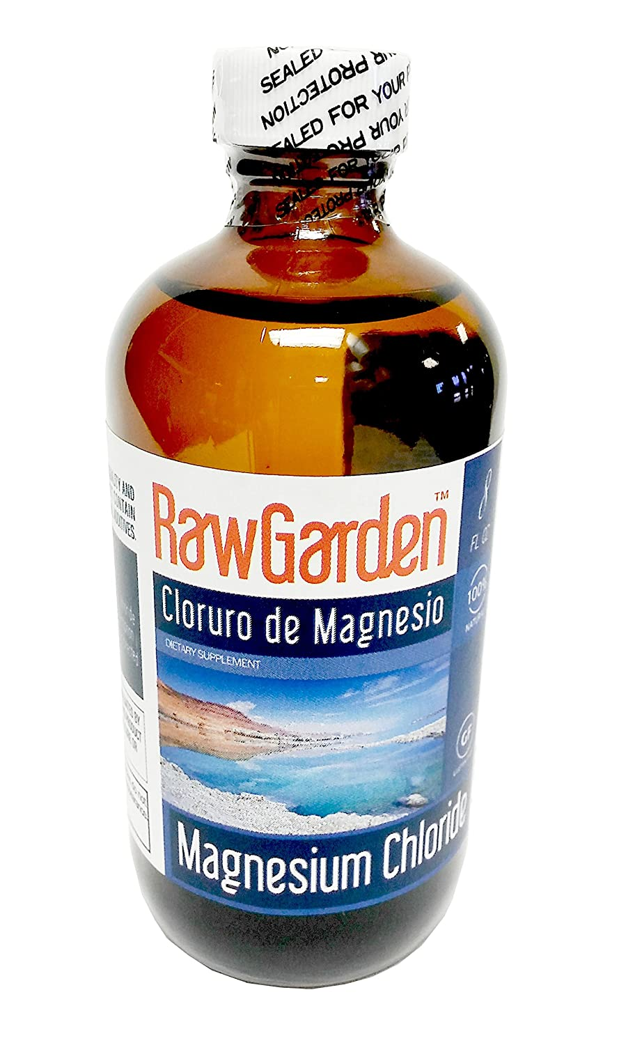 Amazon.com : Raw Garden Magnesium Chloride (Liquid 2 Pack & Flakes 1 Pack) : Grocery & Gourmet Food