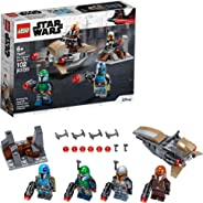 LEGO Star Wars Mandalorian Battle Pack 75267 Mandalorian Shock Troopers and Speeder Bike Building Kit; Great Gift Idea for An