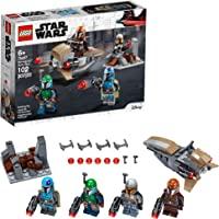 LEGO Kit de construcción Star Wars™ 75267 Pack de Combate: Mandalorianos (102 Piezas)