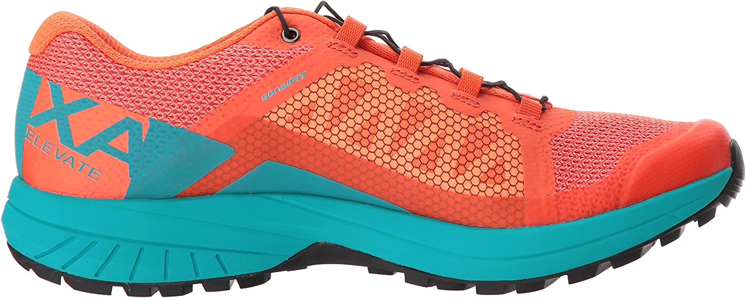 SALOMON Damen Xa Elevate W Traillaufschuhe, dunkelviolett, 8 UK