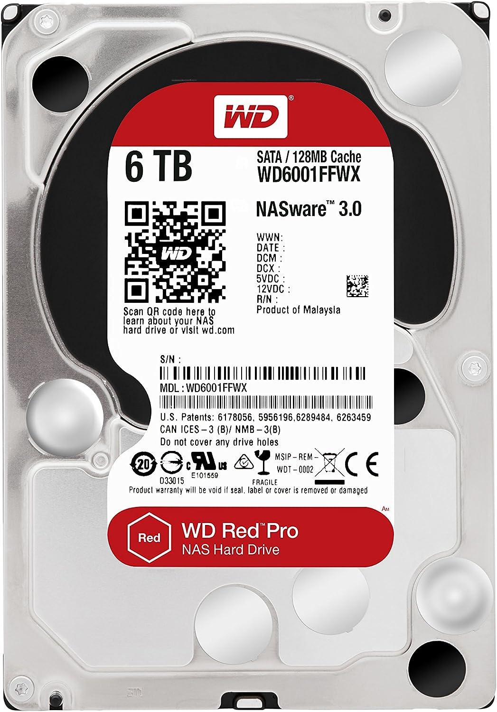 Wd Red Pro 6tb Interne Festplatte Sata 6gb Computer Zubehör