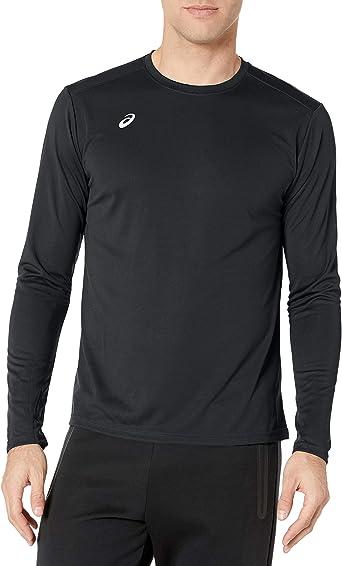 ASICS Men/'s Circuit 8 Warm-Up Shirt Color Options