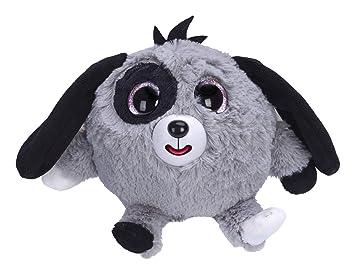 Zigamazoo - Ojos Brillantes, Perro de Peluche, Color Gris (Famosa 700013220)
