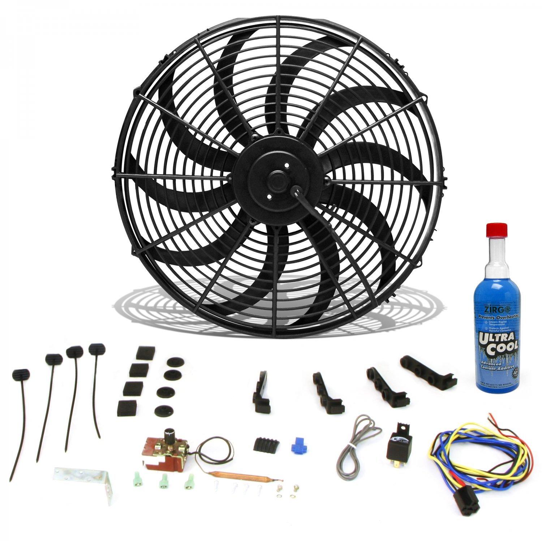 Zirgo 10359 High Performance Cooling System Kit