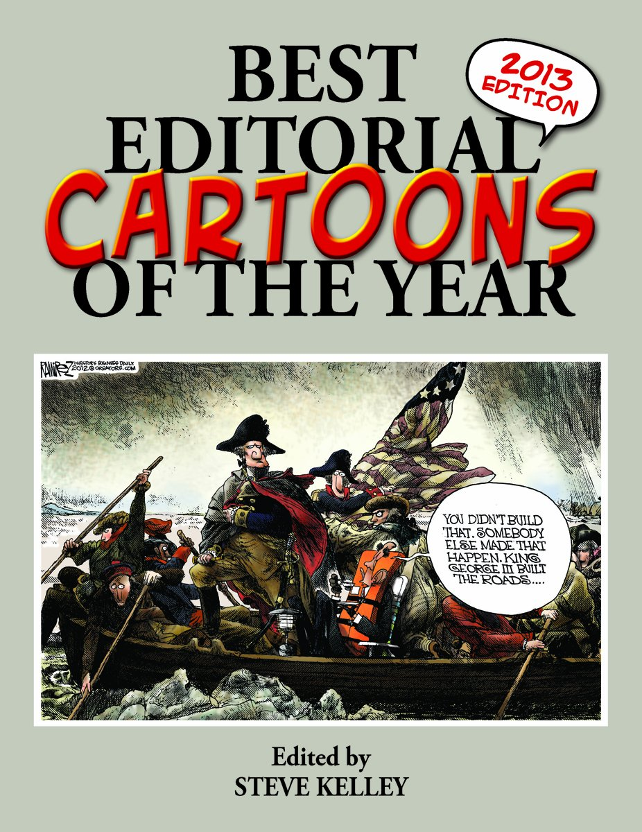 Best Editorial Cartoons Year 2013 product image