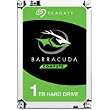 Seagate BarraCuda ST1000LM048 Disco Interno 1 TB (HDD 2,5', 128MB Cache, SATA 6 Gb/s),color negro