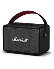 Marshall Kilburn II Portable Bluetooth Speaker, Water-Resistant Wireless Bluetooth Speaker, with 20+ Hours of Portable Playtime and Multi-Directional Sound, Black