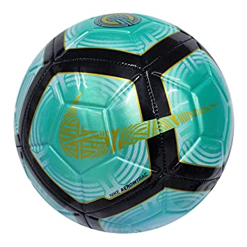 Balón Fútbol Nike Strike CR7 Talla Única, Color Turquesa, Negro ...