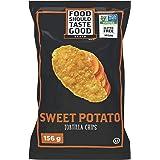 Food Should Taste Good Gluten Free Sweet Potato Tortilla Chips, 156 Grams - Packaging may vary