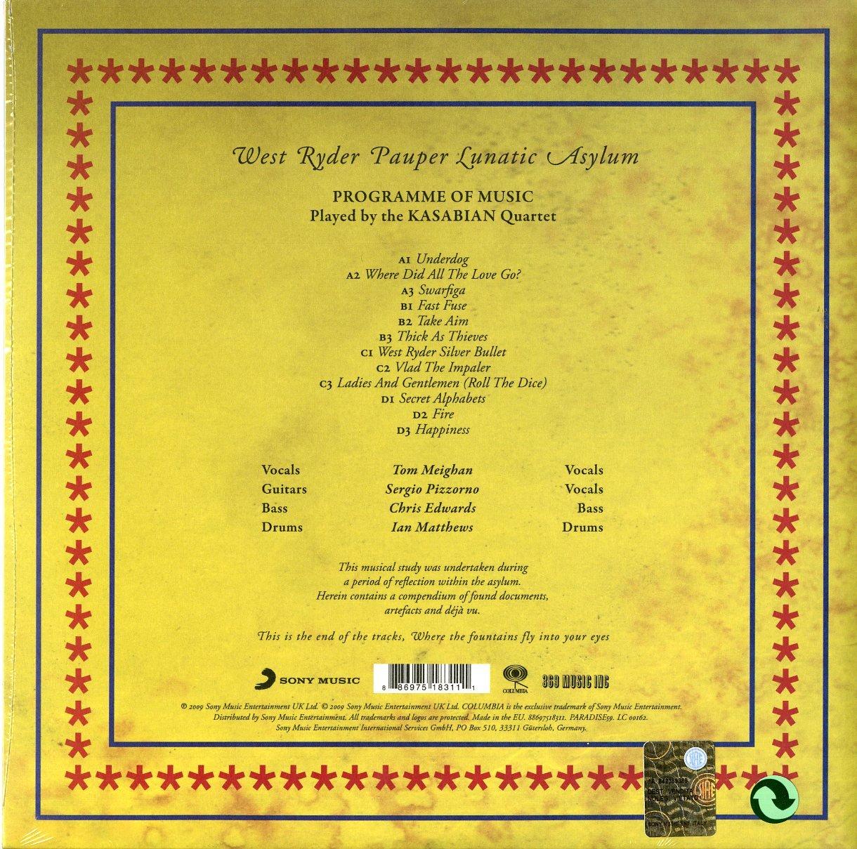 West Ryder Pauper Lunat Asylum [Vinyl] by VINYL
