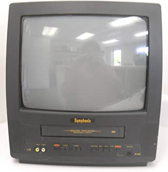 Symphonic WF0213C - Televisor de 13 Pulgadas con Monitor VHS de Seguimiento Digital: Amazon.es: Electrónica