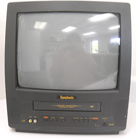 Symphonic WF0213C - Televisor de 13 Pulgadas con Monitor VHS de ...