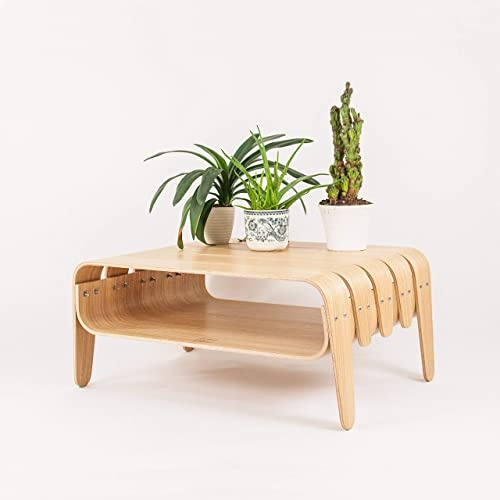 Amazon.com: Mid-Century Modern Living Room Coffee table with ...