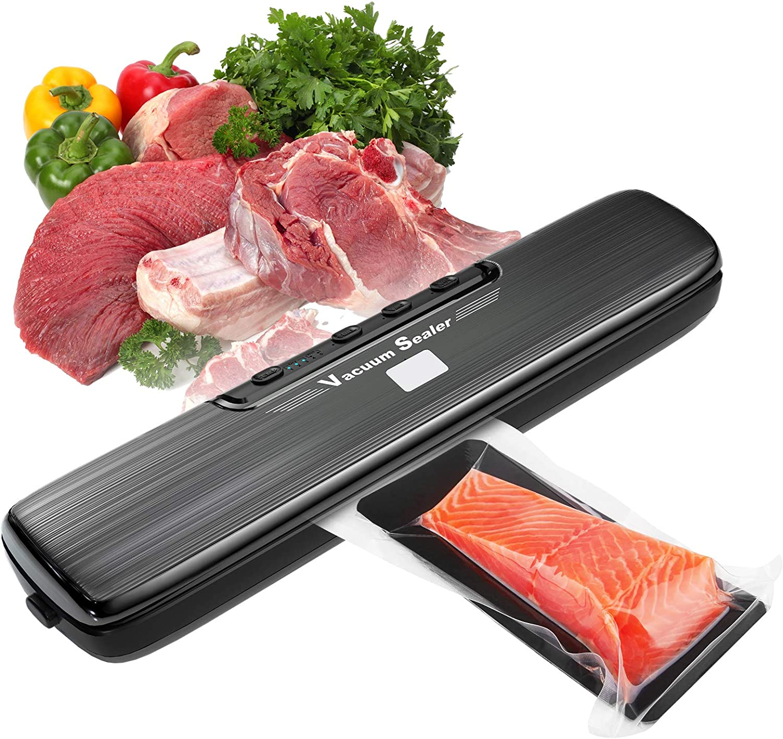 Vacuum Sealer Machine, Automatic Food Sealer Machine for Food Saver, Compact Food Sealer Vacuum For Food Preservation, Dry & Moist Food Modes