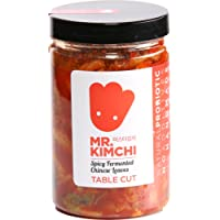 330g Freshly UK- made Kimchi based on Authentic Korean Recipe (Natural Fermentation, Natural Probiotics, No Artificial Additives)