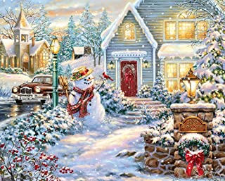 product image for Springbok 1000 Piece Jigsaw Puzzle Silent Night Lane