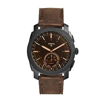 Amazon.com: Fossil Q - Reloj inteligente híbrido de acero ...