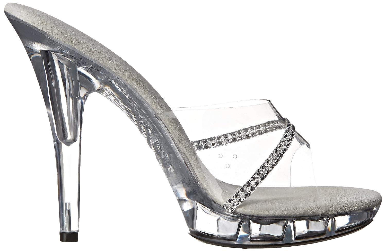 Ellie Shoes Women's M Jesse Platform B00DGQN7TG Sandal B00DGQN7TG Platform 5 Clear 25e3f1