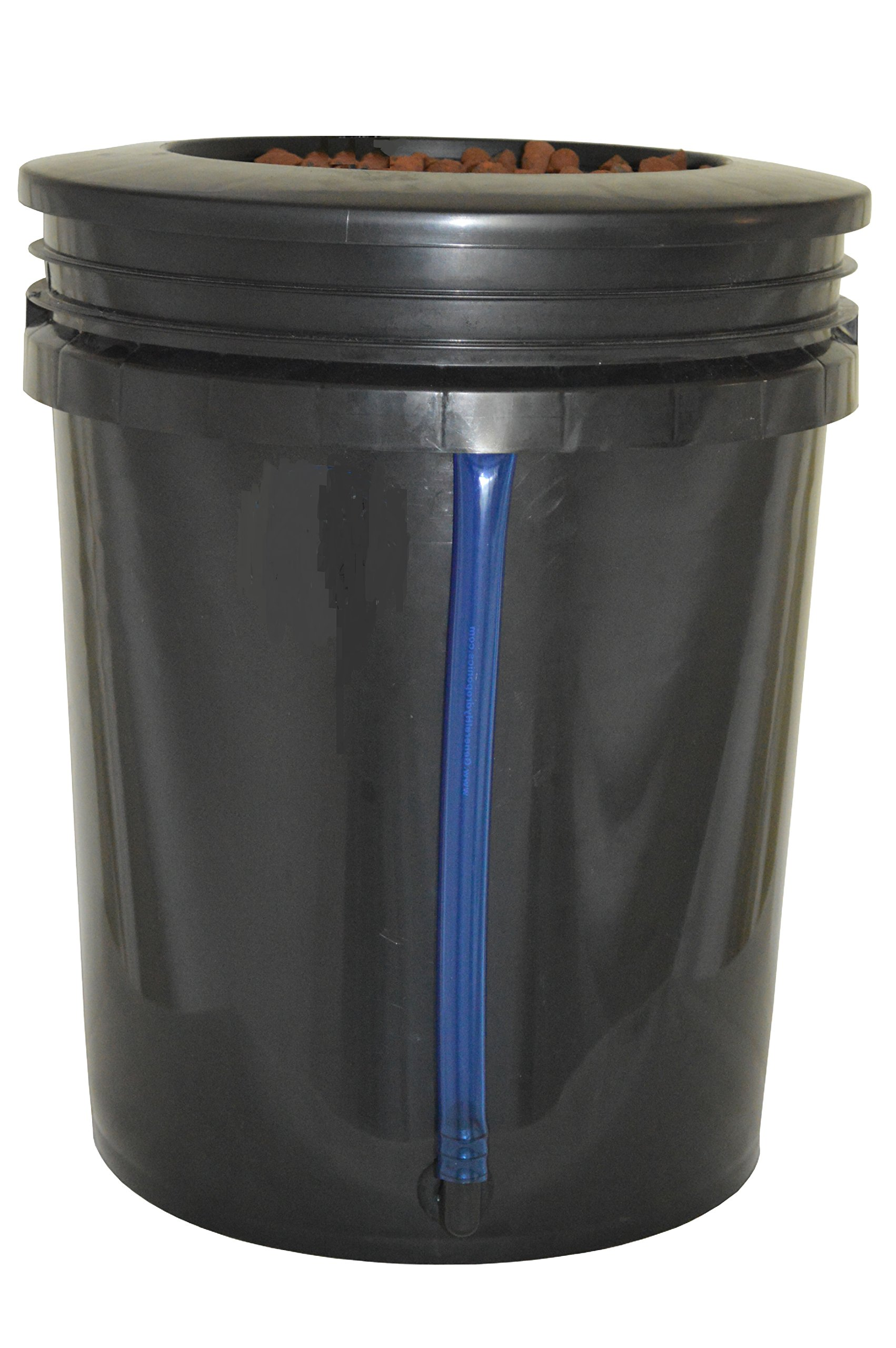 DWC 4-site Hydroponic Bucket BUBBLER Grow kit by H2OToGro (Image #2)