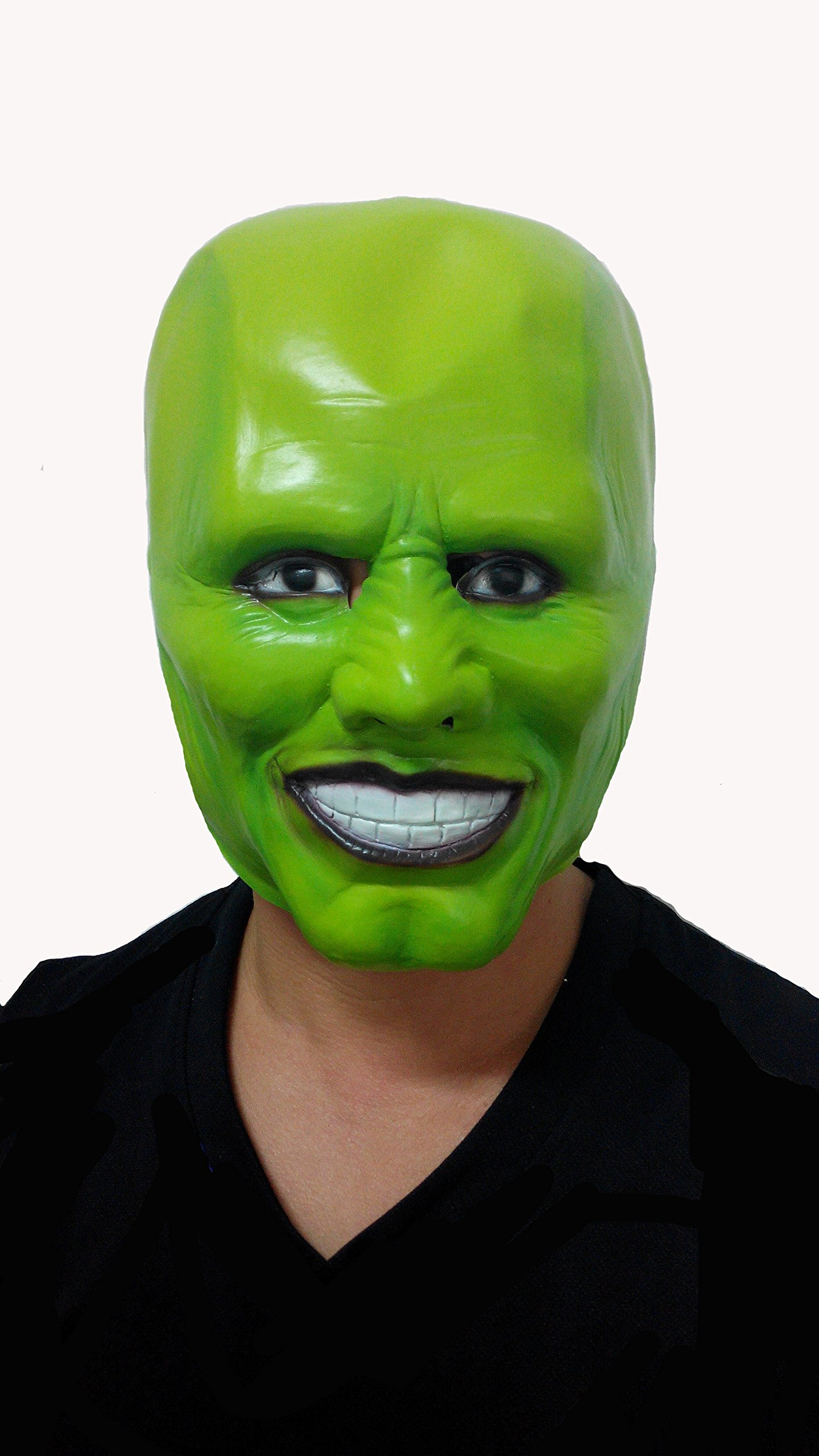 SPOD® Creepy Green Mask Latex Mask for Costume Party