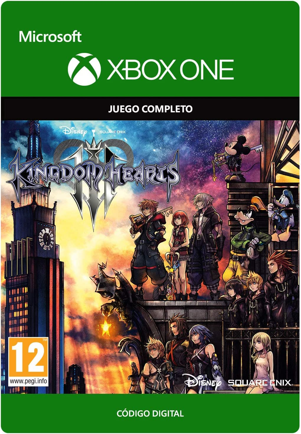 Kingdom Hearts III: Digital Standard   Xbox One - Código de ...
