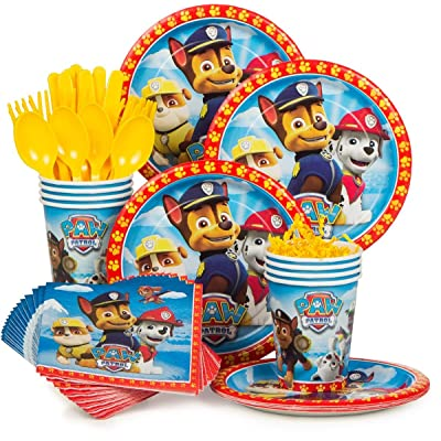 Paw Patrol Party Supply Standard Kit (Serves 8): Toys & Games