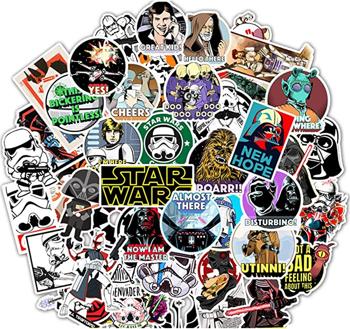 Top 10 Bulck Star Wars Stickers For Laptop