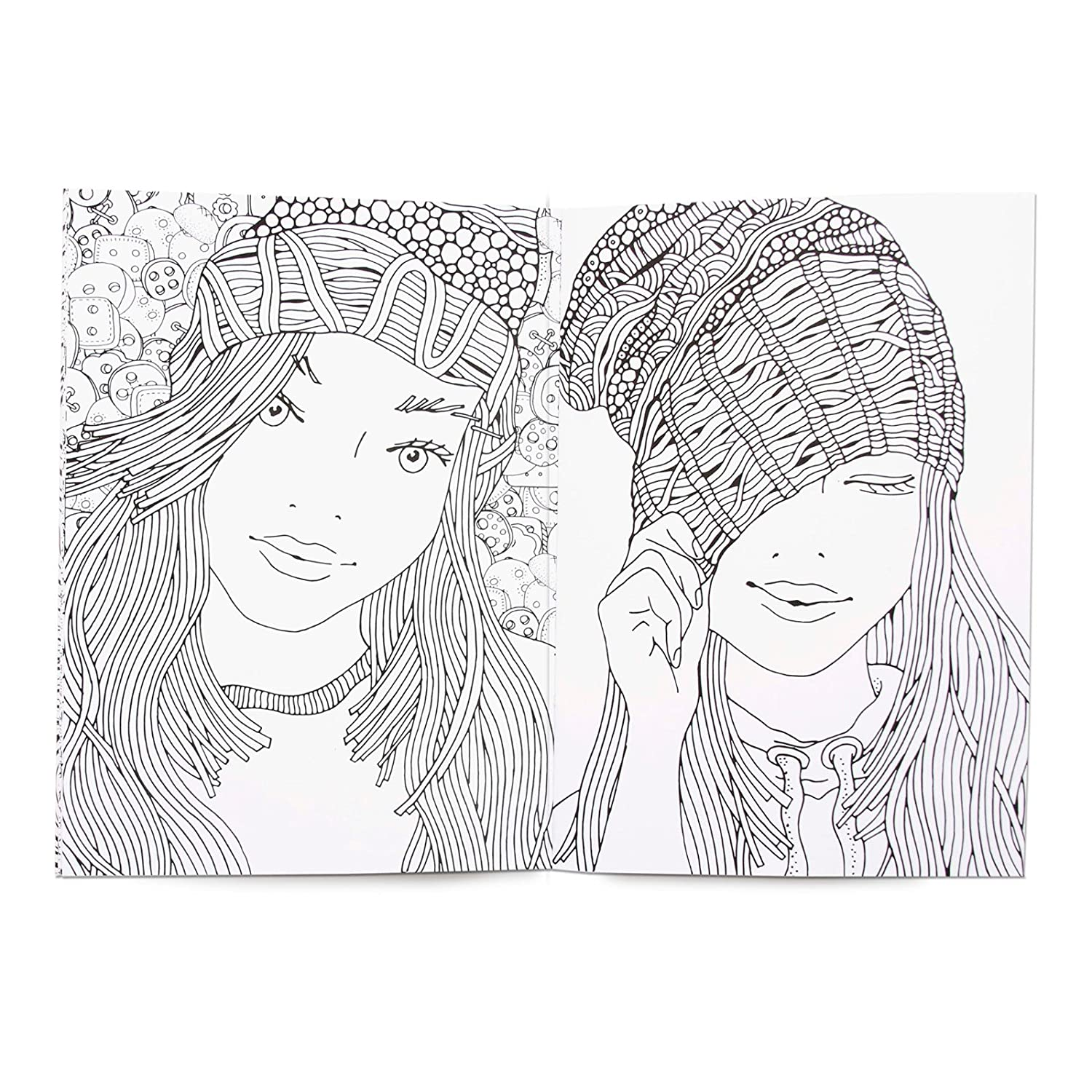 Personalised Colouring Book Girls//Ladies Names Colour Therapy Books ...