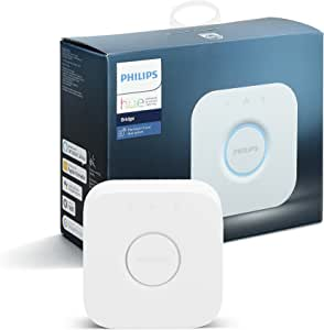 Philips Hue Smart Bridge (Compatible with Amazon Alexa, Apple HomeKit, and Google Assistant)