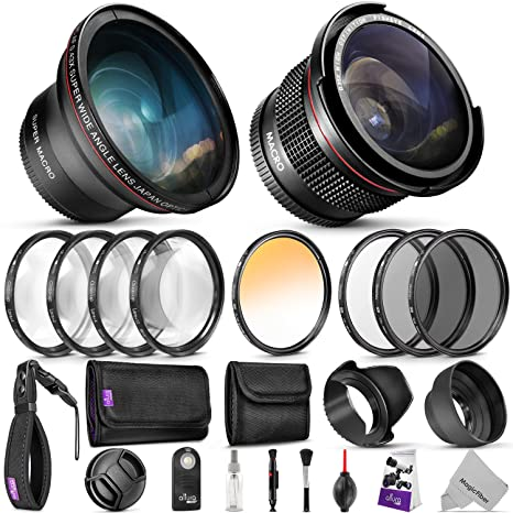 Review Professional 58MM Lens &