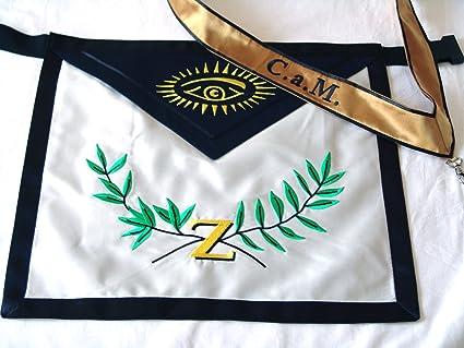 New Masonic Scottish Rite 4th Degree Secret Master Regalia Satin Apron +  Collar