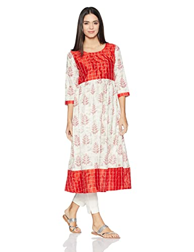 Libas Women's Anarkali Kurta Kurtas at amazon