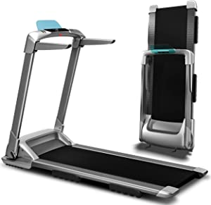 Ovicx Foldable Treadmills for Home - Portable Folding Compact Small Thin Electric Fold Up Lightweight Treadmill for Space Saver Apartment