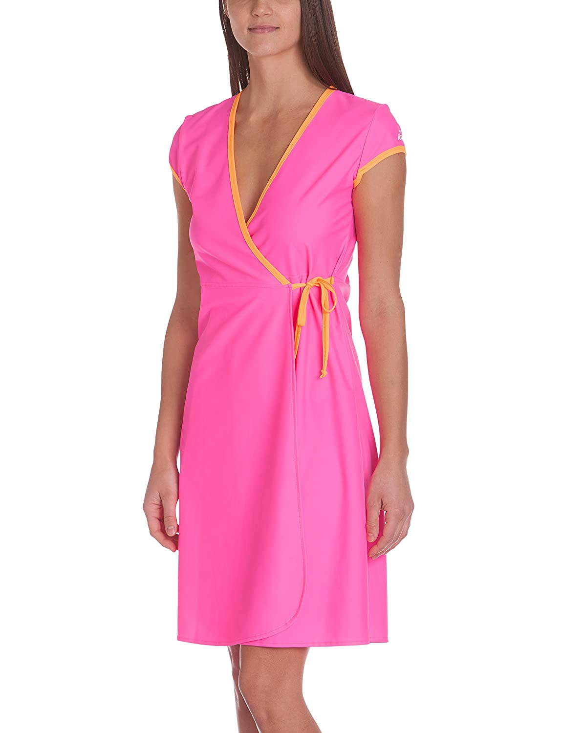 iQ-UV Damen 300 Beachdress, Schutz Strandkleid Wickelkleid