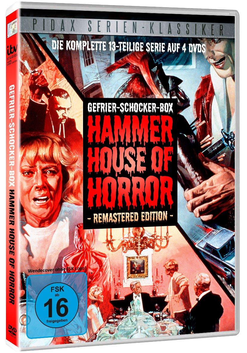 Gefrier Schocker Box Hammer House Of Horror Remastered
