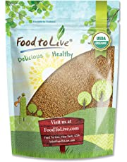 Organic Broccoli Seeds for Sprouting, 1 Pound - Non GMO, Kosher, Vegan, Bulk