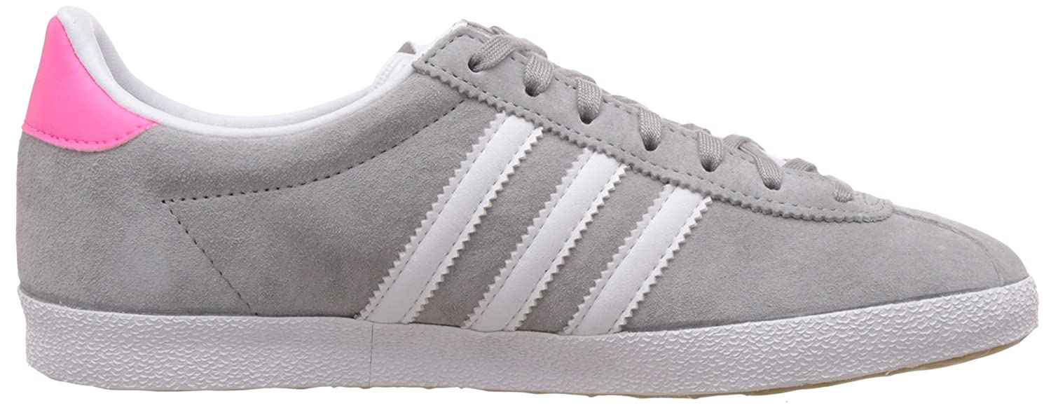 adidas Gazelle OG, Women\u0027s Trainers, Beige (Mgh Solid Grey/Ftwr White/Solar  Pink), 8 UK: Amazon.co.uk: Shoes \u0026 Bags